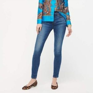 """J.Crew 9"""" high-rise toothpick eco Jeans"""